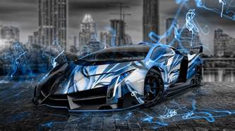 Blue Lamborghini Wallpaper Lamborghini Veneno Wallpaper Blue Auto Datz