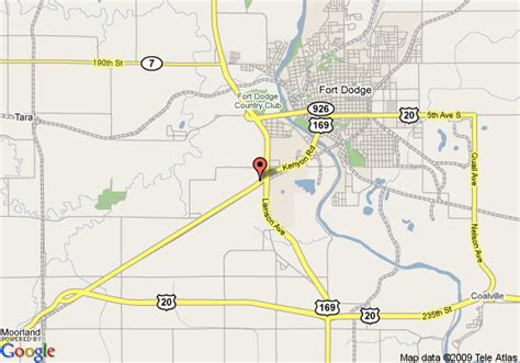 directions to fort dodge iowa map of budget host inn fort dodge fort dodge