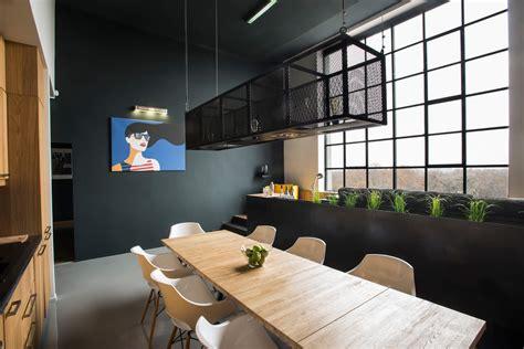 Design Love Fest Loft Tour   industrial budapest loft apartment nonagon style