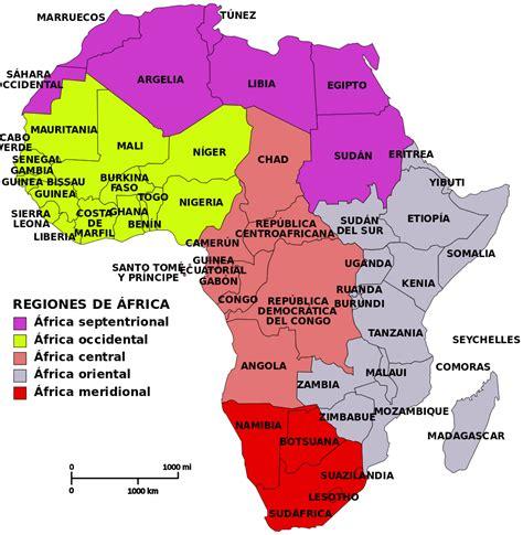 archivo africa map regions es svg wikipedia la - Motorboat Que Significa En Ingles