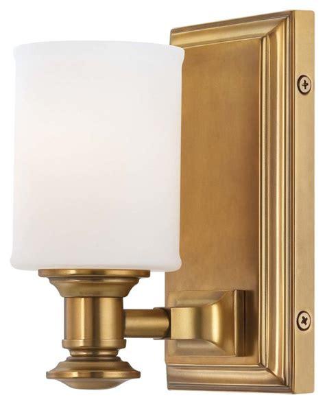 Gold Bathroom Sconces Minka Lavery 5171 249 Liberty Gold 1 Light Bathroom Sconce