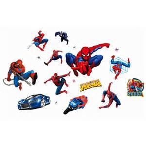 spiderman wallsticker forskellige motiver super home decal wall sticker decals bedroom kids boys room