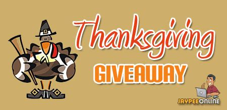 Thanksgiving Sweepstakes - 1 500 thanksgiving giveaway jaypeeonline