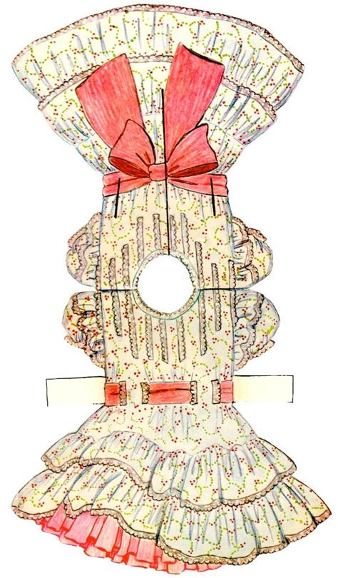 How To Make A Paper Doll Dress - paper doll dress clip printables