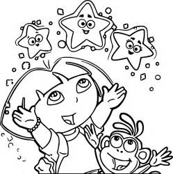 dora explorer coloring pages bestofcolorin 65415 thecoloringpage net