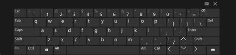 keyboard layout in windows 10 windows 10 tablet onscreen keyboard arrows super user
