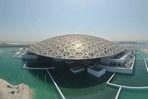 Interior Furnishing by Eight Year Time Lapse Shows Louvre Abu Dhabi Take Shape