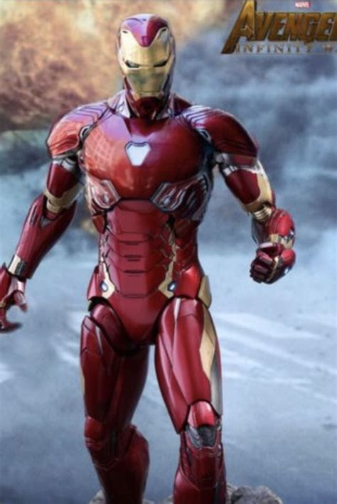 helmet included infinity war iron man mark adult