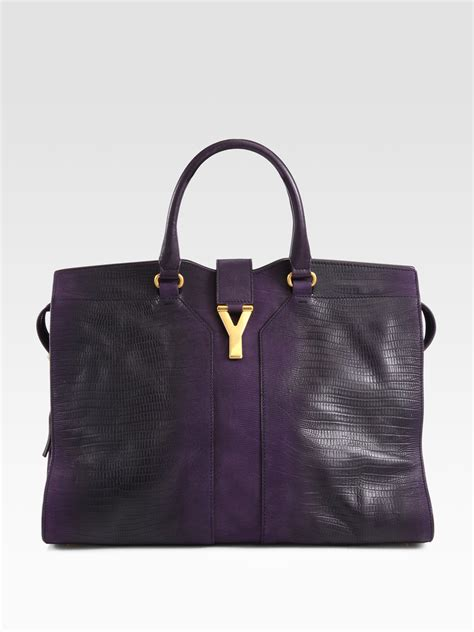 Parkers Yves Laurent Bag by Yves Laurent Bow Handle Bag Laurent Shopping Bag