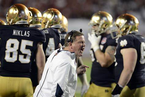 Notre Dame Mba Chicago Ranking by 2013 College Football Standings Notre Dame Falls To No 4