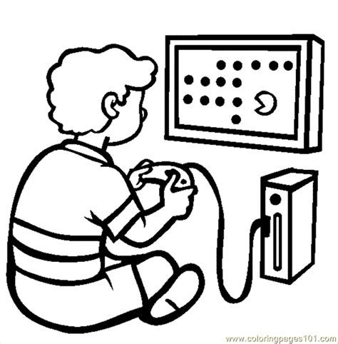 coloring pages for video games 94 the video game console coloring page free games