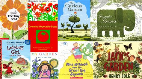 planting gardens in books green thumbs the stag