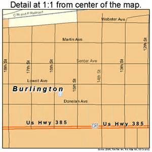 burlington colorado map burlington colorado map 0810600