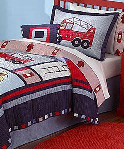 Pillows Bed Of Truck Boys Quilt Bedding And Trucks On