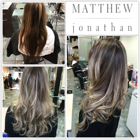 cheap haircuts in mississauga ombre balayage great dark brown to blonde ombre balayage