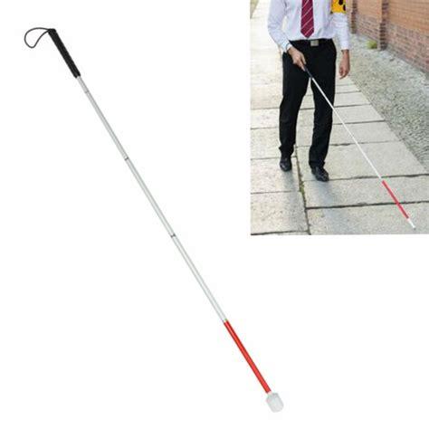 Walking Sticks For The Blind original folding walking stick for blind person guide crutch staff aluminium alloy elders