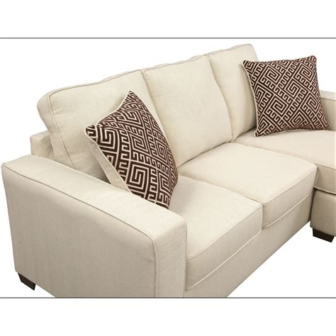 Sterling Beige Queen Innerspring Sleeper Sofa W Chaise Sofa Sleeper With Chaise