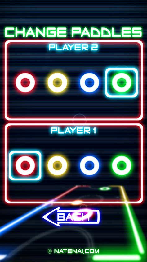 best air apps glow hockey screenshot