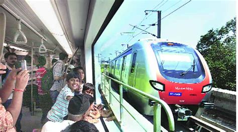 metro fare hike now pay rs 40 for versova ghatkopar trip the indian express