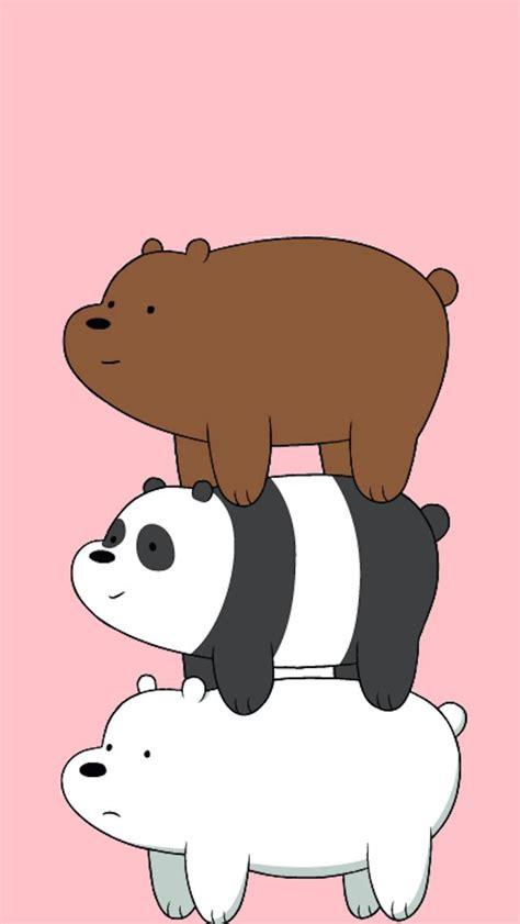 bare bears wallpaper iphone  ilustrasi
