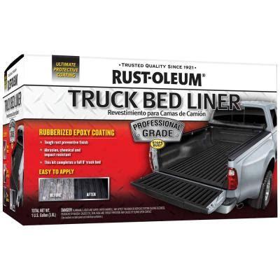 rustoleum truck bed coating rust oleum automotive 1 gal professional grade truck bed
