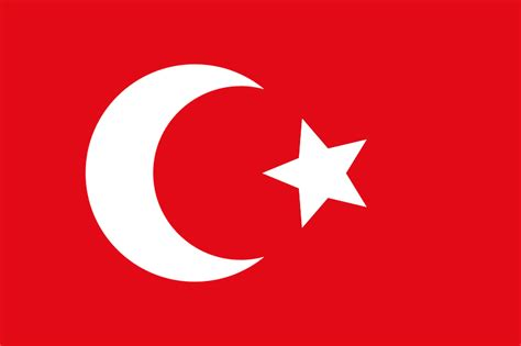 File Flag Of The Ottoman Empire Svg Wikimedia Commons