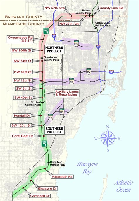 map of florida turnpike service plazas florida key west travel info maps available with