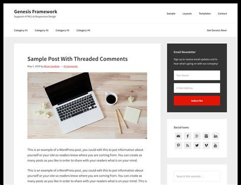 theme blog wordpress premium 80 best premium blog wordpress themes 2016