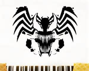 Marvel Superhero Wall Stickers venom logo etsy