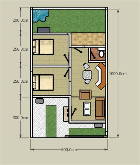 gambar denah desain rumah tipe 36 minimalis gambar desain rumah minimalis