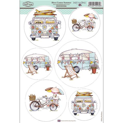 hobby house the hobby house daisy mae draws card toppers here comes summer the hobby house