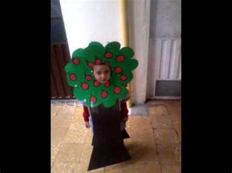disfraz arbol youtube como hacer un disfraz de arbol para ni 241 o en foami imagui