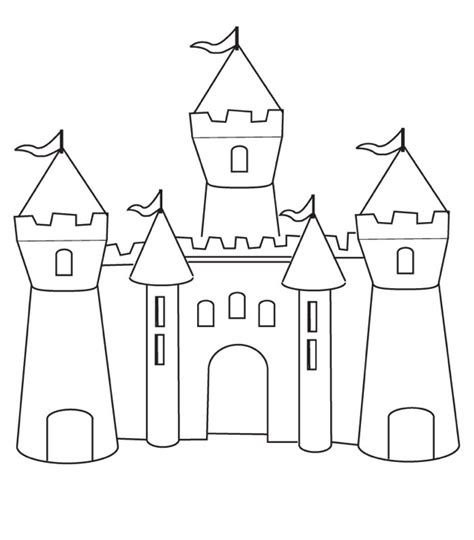 free coloring pages princess castle castle coloring page coloring book