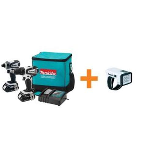 makita 18 volt lithium ion combo kit 3 tool lct306w