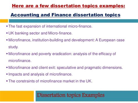 accounting and finance dissertation dissertation writing uk