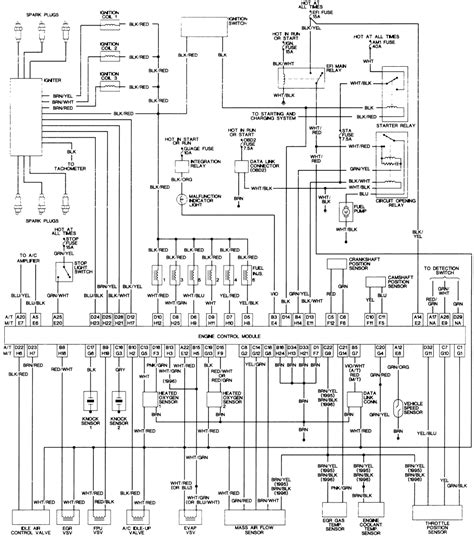 repair guides at toyota wiring diagrams on wiring diagram