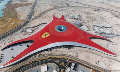 ferrari world video ferrari world abu dhabi opens to public photos 1
