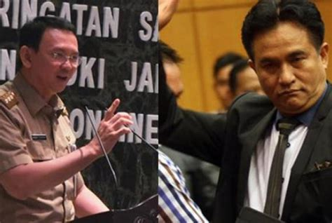 ahok human rights yusril tells judges to reject ahok s judicial review