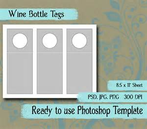 wine tag template scrapbook digital collage photoshop by vintageimagesintime