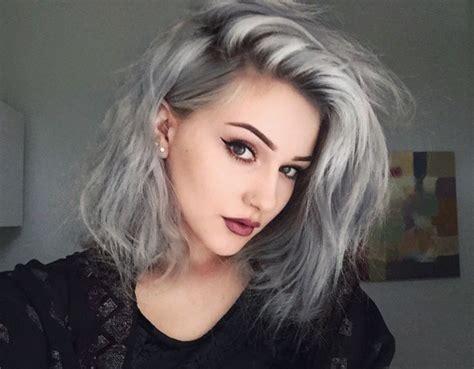 lock color pelo 2016 m 225 s de 1000 ideas sobre pelo gris corto en pinterest