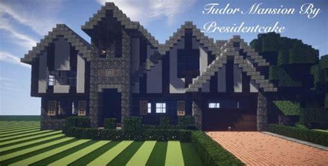 build a mansion tudor mansion minecraft house design