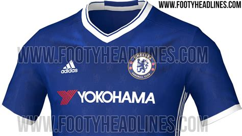 chelsea new kit 2016 17 chelsea 2016 17 home kit leaks ahead of official unveiling