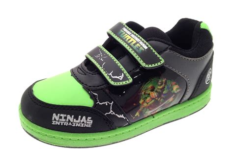 boys mutant turtles shoes character