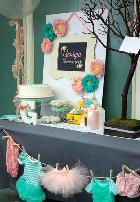 Ideas For Baby Shower by 22 Low Cost Diy Decorating Ideas For Baby Shower
