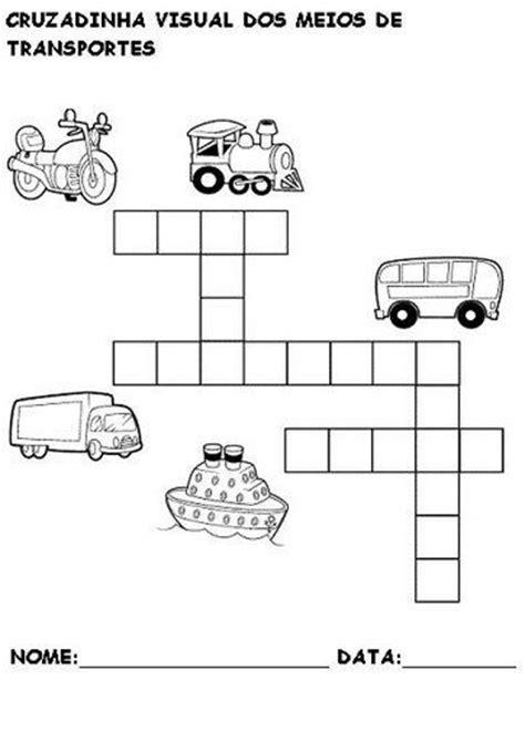 Eu amo a Educação Infantil: Meios de Transportes