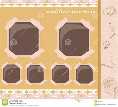 Vintage Wedding Album Design by Vintage Wedding Album Design Stock Image Image 33057831