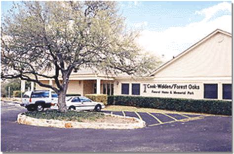 cook walden forest oaks funeral home and memorial park