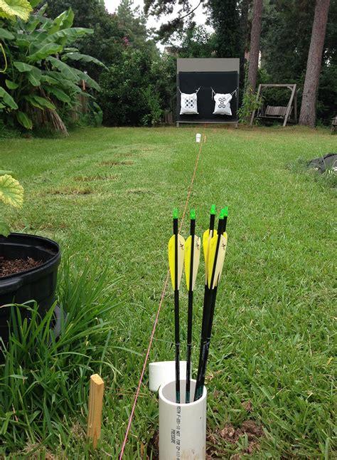 backyard archery building your suburban outdoor archery range surviving