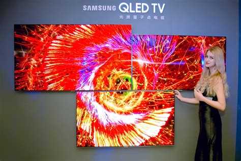 samsung qled samsung forges alliance with rivals to bolster qled against lg s oled