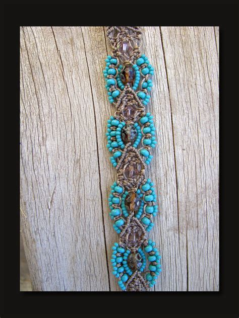Micro Macrame Free Patterns - tonopah dreams micro macrame bracelet 171 the beading yogini